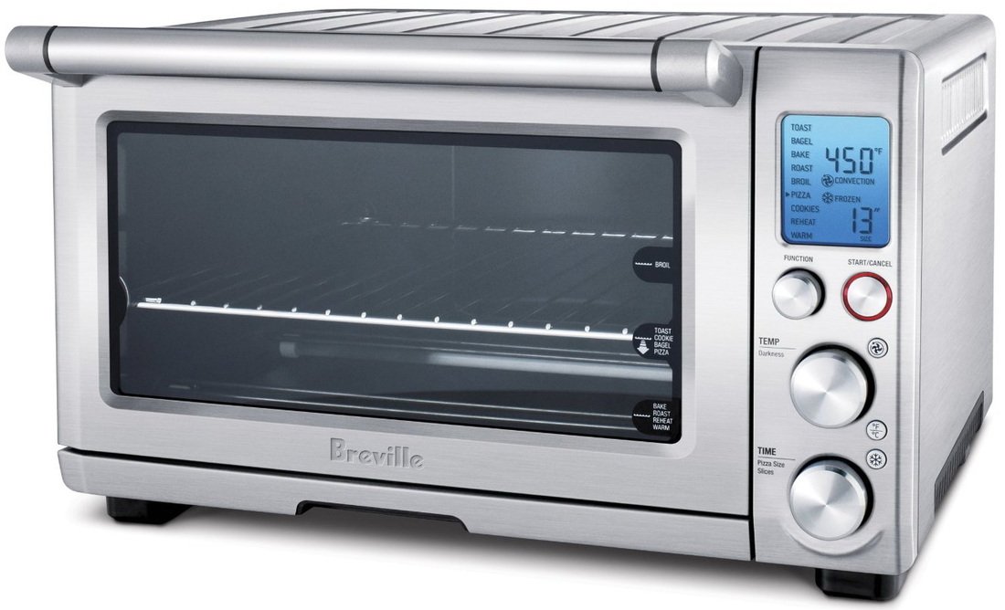 Breville BOV800XL Smart Oven 1800-Watt Convection Toaster Oven with ...